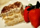 Tiramisu with Strawberries