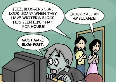 blogger's burnout
