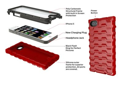 Hard Candy ShockDrop Case for the iPhone 5