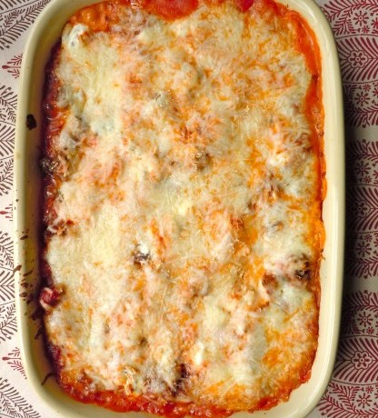 Gluten Free Roasted Garlic Lasagna