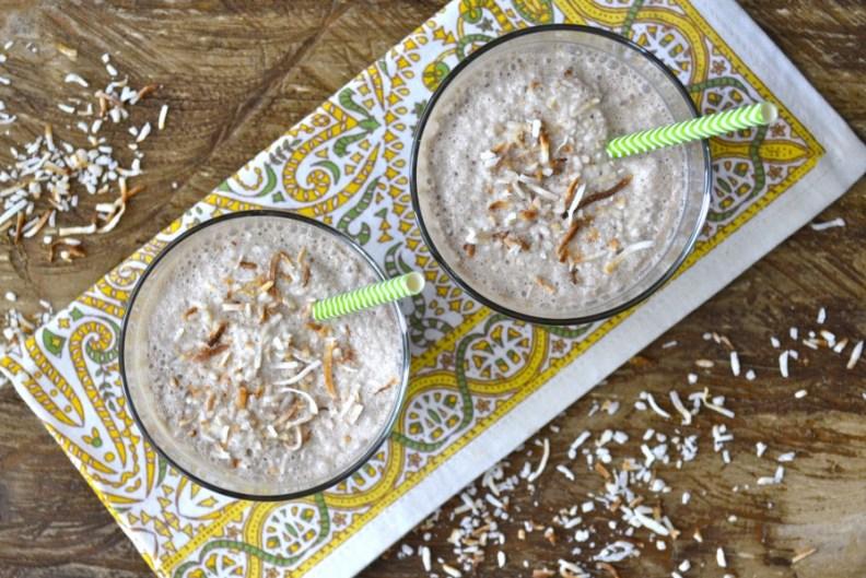 Blended Coconut Mocha