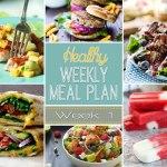 Healthy Meal Plan: Week One