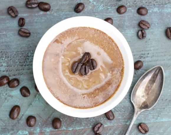 Caramel Macchiato Mocha Custard