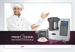 Catálogo pequeño electrodoméstico ProfiCook 2015