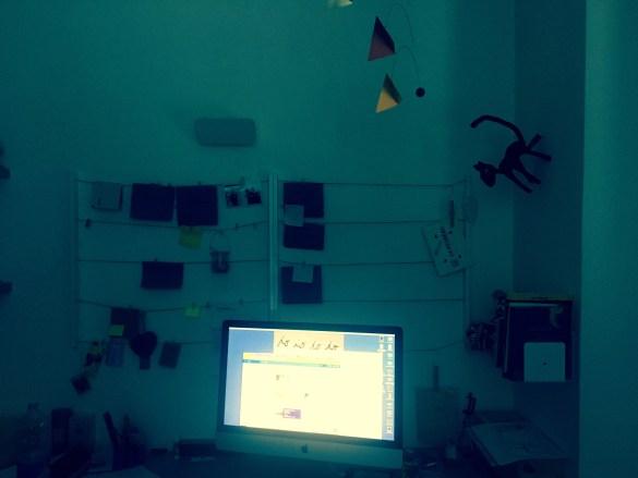 scrivania per pensare