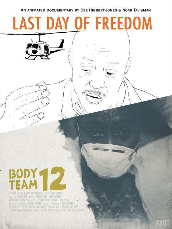 Mejor Corto Documental: EMPATE: Body Team 12 y The last day of freedom