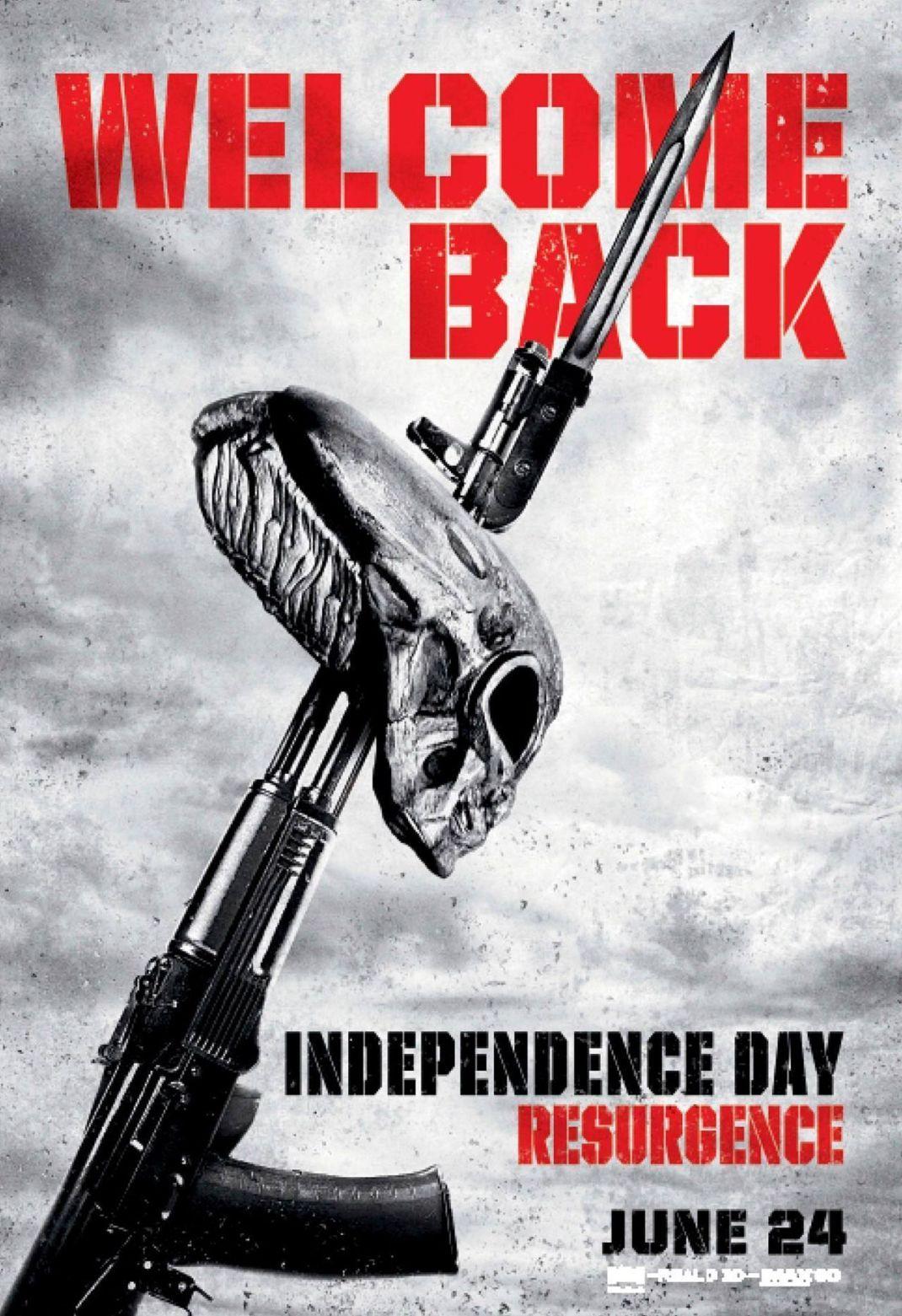 Poster Independence Day - MagaZinema