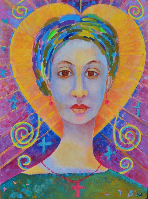 Erzulie Freda painting Ezili Freda I love Ezili
