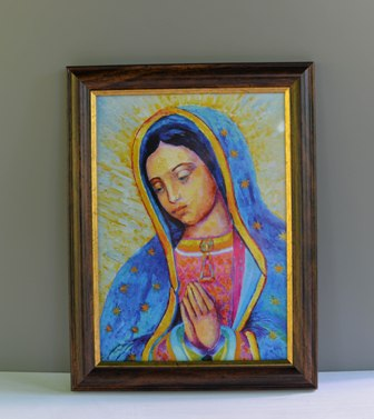 Virgen de Guadalupe framed art