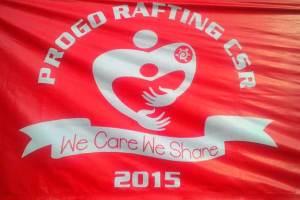 "17 Tahun Progo Rafting ""We Care We Share"""