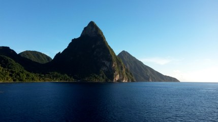 The Pitons of Soufriere, St. Lucia