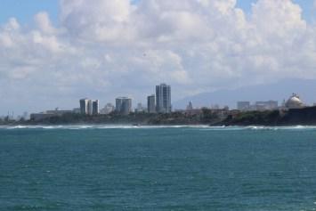 Downtown San Juan.