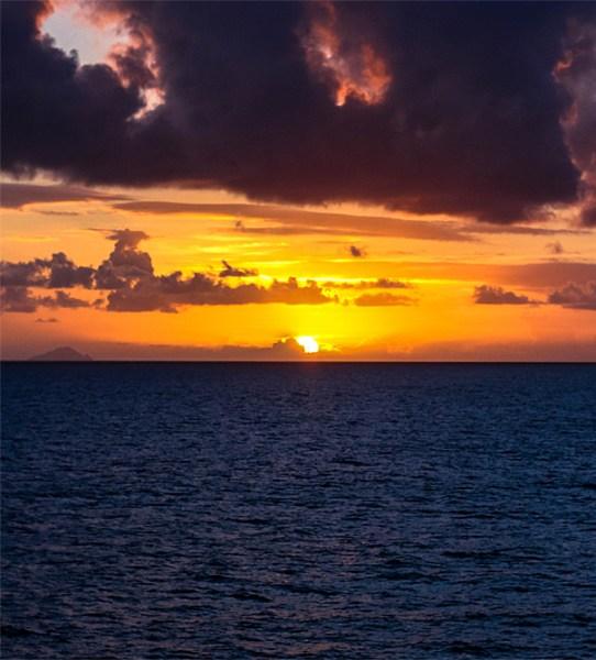 Heading to Curacao
