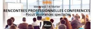 Rencontres professionnelles : Focus assurances spectacles – 14 févier 2018 – Toulouse @ La Grainerie | Balma | Occitanie | France