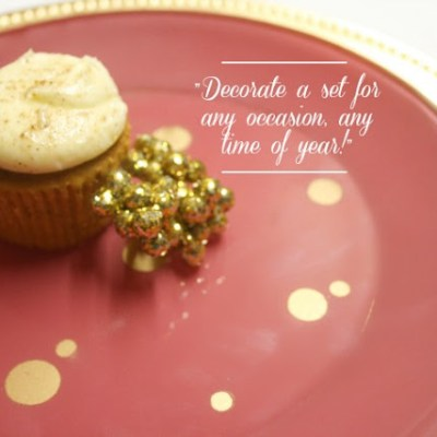 {Holiday Place Setting // DIY}