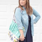 How She Styled It: our Abstract Aztec tote/diaper bag