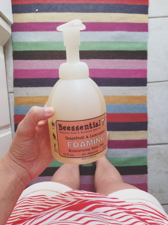 beesential hand soap maggie whitley