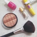 My favorite summer makeup essentials.