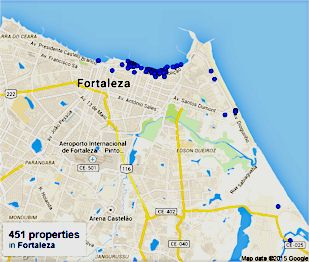 map fortaleza