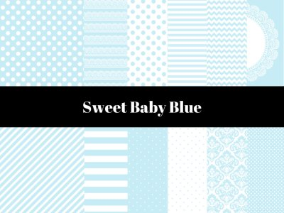 Baby Blue Digital Paper, Light Blue Digital Paper, Instant download, digital paper, Blue Background, Baby blue Background