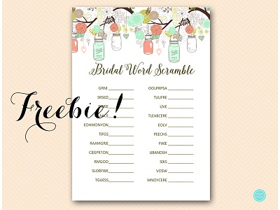 FREE-scramble-bridal-words-mint-peach-bridal-shower-game