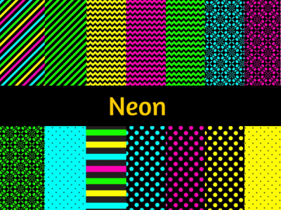 Neon Digital Papers