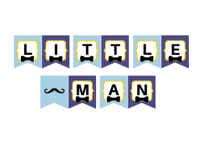 little man banner