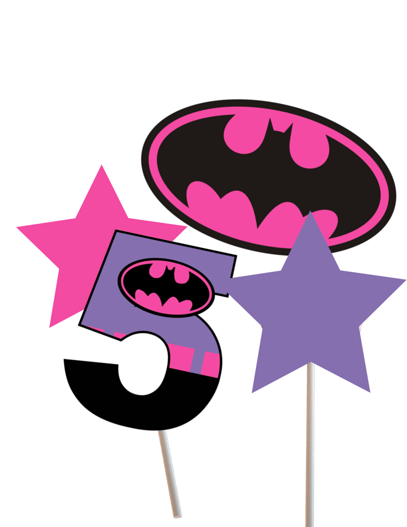 This is an image of Sizzling Batgirl Logo Printable