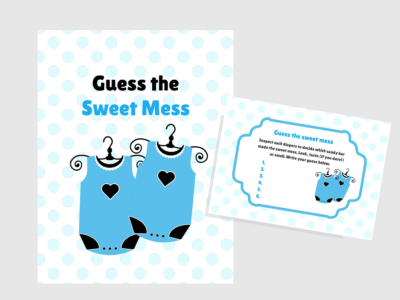 Twins Boys Baby Sweet Mess game