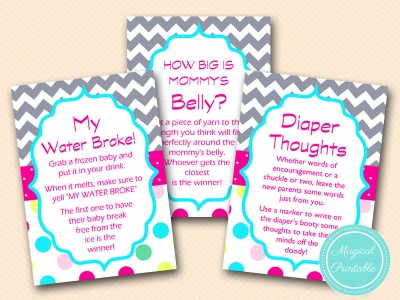 sugar and spice that's what girls are made of baby shower game pack, tlc129