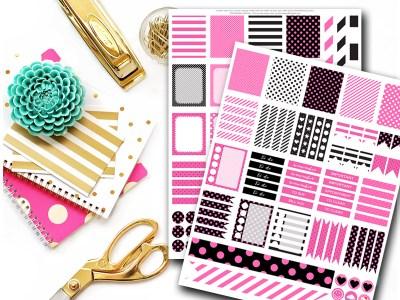 mps04_magicalplanners_erin_condren-_planner_stickers-chic-hot-pink-kate-spade