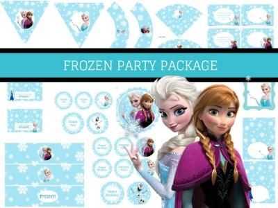 frozen birthday pack
