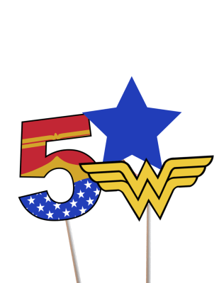 Centerpiece Wonderwoman