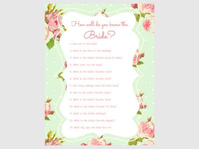 Bridal Shower Games, Printable Bridal Shower Games, Bridal Shower Game Prizes, Unique Bridal Shower Games, Fun Bridal Shower Games,