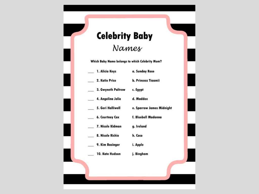 37 'Weird' Celebrity Baby Names That Have Raised a Few ...
