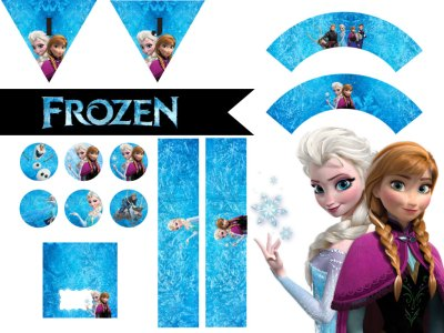 Frozen Birthday party Printable package