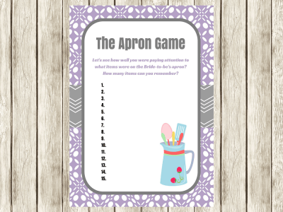 purple-apron-game-bridal-shower-game
