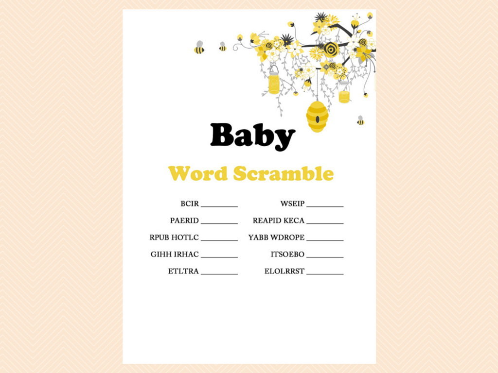 baby shower themes on Pinterest | Bee Theme, Bumble Bees ...