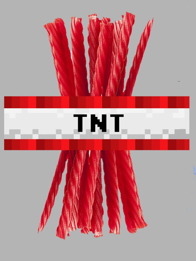 Minecraft TNT Wrappers - Magical Printable