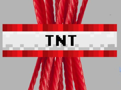 Minecraft TNT Wraps INSTANT DOWNLOAD Party Favor Wrappers