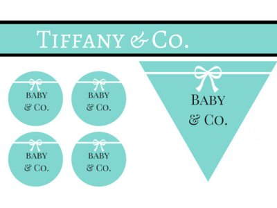 baby and co tiffany banner