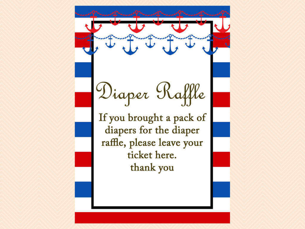 nautical baby shower inserts magical printable diaper raffle card and sign books for the baby card bring a book instead