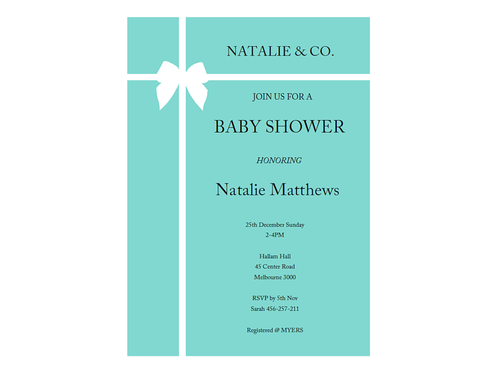 Tiffany And Co Baby Shower Games Printables, Tiffany Blue