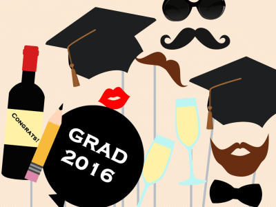 graduation Photo booth, Photobooth Prop, school graduation party Photo booth, grad 2015 Photo Booth, photo booth props, printable Props 2016
