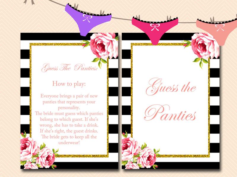 Wedding Guest Panties