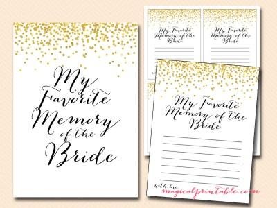 favorite-memory-of-bride-cards
