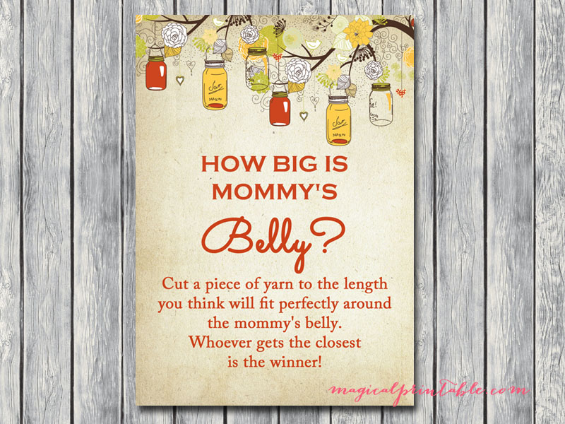 Exhilarating image for how big is mommy's belly printable