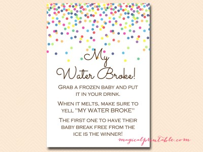my-water-broke-sign