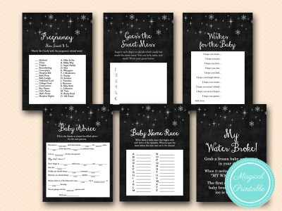 winter baby shower games, baby it's cold outside baby shower tlc126