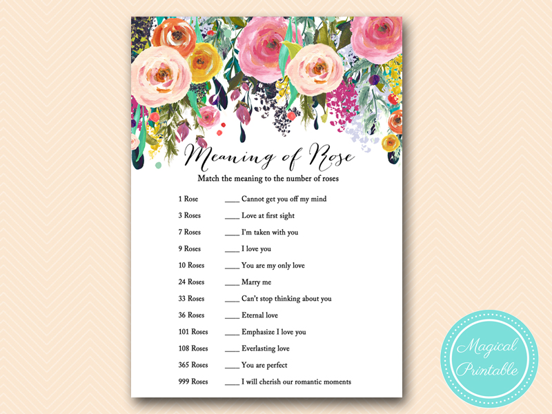 Floral shabby chic garden bridal shower games magical for What does shabby mean